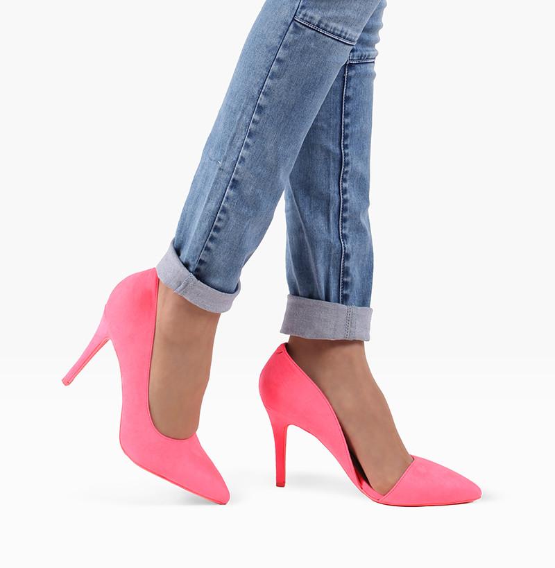 d919b90e1 Неоновые туфли на каблуке Desire Neon Pink: продажа, цена в Киеве ...