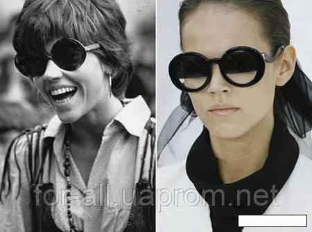 Сонцезахисні окуляри з минулого