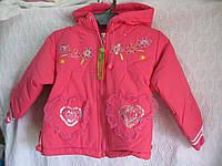Курточка для девочки р 104-110