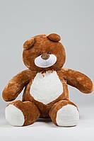 Кофейный большой плюшевый медведь Балу 300см
