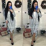 Женский юбочный костюм с поясом, фото 3