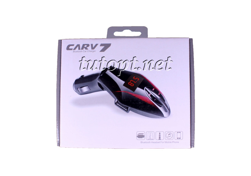 FM Модулятор для Авто CARV 7, Bluetooth, MP3, USB, AUX