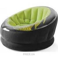 Надувное кресло-велюр Intex 112х109х69 см (68582)