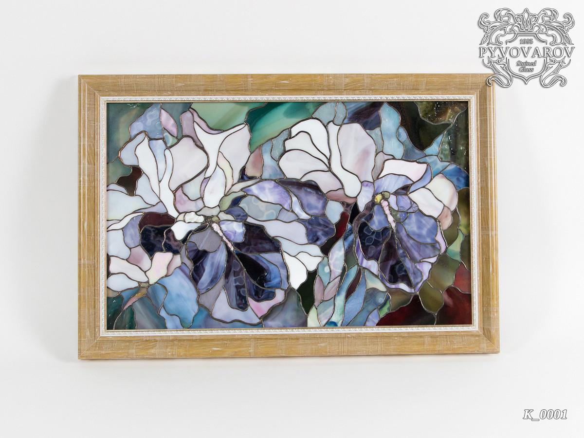 Картины из стекла Ирисы Моне