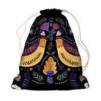 """Детский рюкзак-мешок MINI """"Flower fall"""" (10 фото)"""