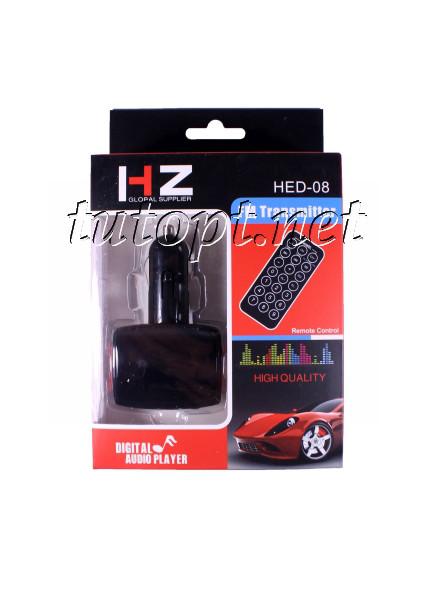 FM Модулятор для Авто HZ HED-08, Bluetooth, MP3, USB, AUX