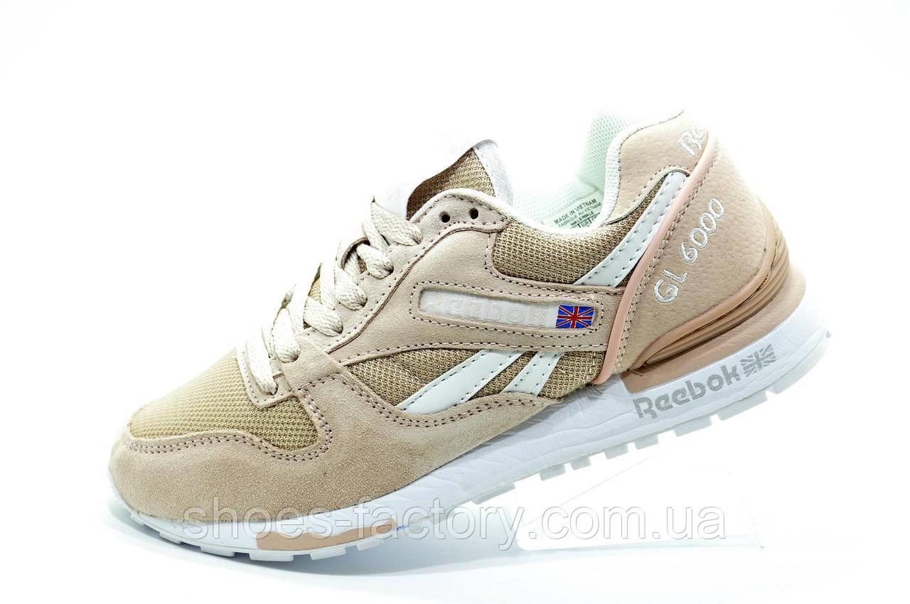 Женские кроссовки в стиле Reebok GL 6000 SNE, Peach color