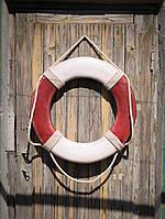 Винтажный спасательный круг  ø50 cm, фото 1