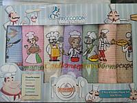 Набор кухонных вафельных полотенец  Чистая неделька