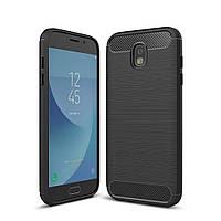 Чехол Carbon для Samsung J7 2017 J730 J730H бампер Black