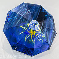"Женский зонтик автомат сатин ""Fantasy flower"" от фирмы ""Lantana"""