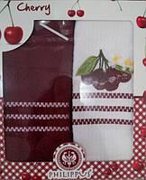 "Набор кухонных полотенец махра+вафля ТМ ""Philippus"""