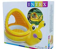 Детский надувной бассейн Intex 57124 Улитка