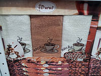Набор махровых кухонных полотенец Durul - 3 шт.
