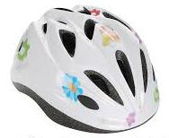 Детский защитный шлем Explore Tresor белый S 54-56,М 56-58