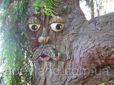 Украшение для деревьв. Лицо для дерева.