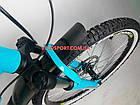 Подростковый велосипед Cyclone Dream 24 дюйма голубой, фото 5