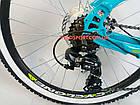 Подростковый велосипед Cyclone Dream 24 дюйма голубой, фото 8