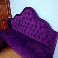 Диван мягкий для кафе и ресторанов К-Р006 Фиолет