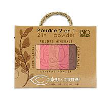 Бронзирующая Пудра + Румяна 2 в 1 Сouleur Caramel