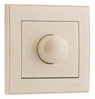Диммер (светорегулятор) 800W кремовый RAIN Lezard