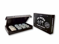 Камни для виски Whiskey Stones Ice Rocks Black9 ( подарок мужчине )