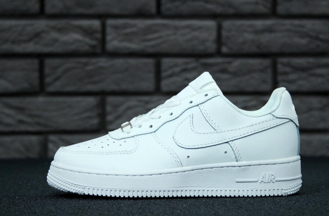 Кроссовки женские Nike air force 1 White