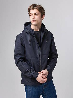 """Мужская куртка """"Спринг"""" темно-синий RC-020"""