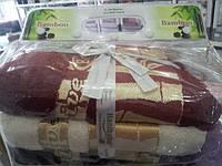 Набор бамбуковых полотенец Hanibaba 3 шт. 50*90 см