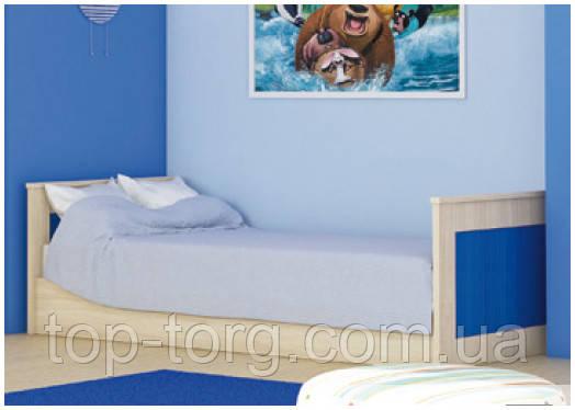 Ліжко Денді, червоний, синій, зелений