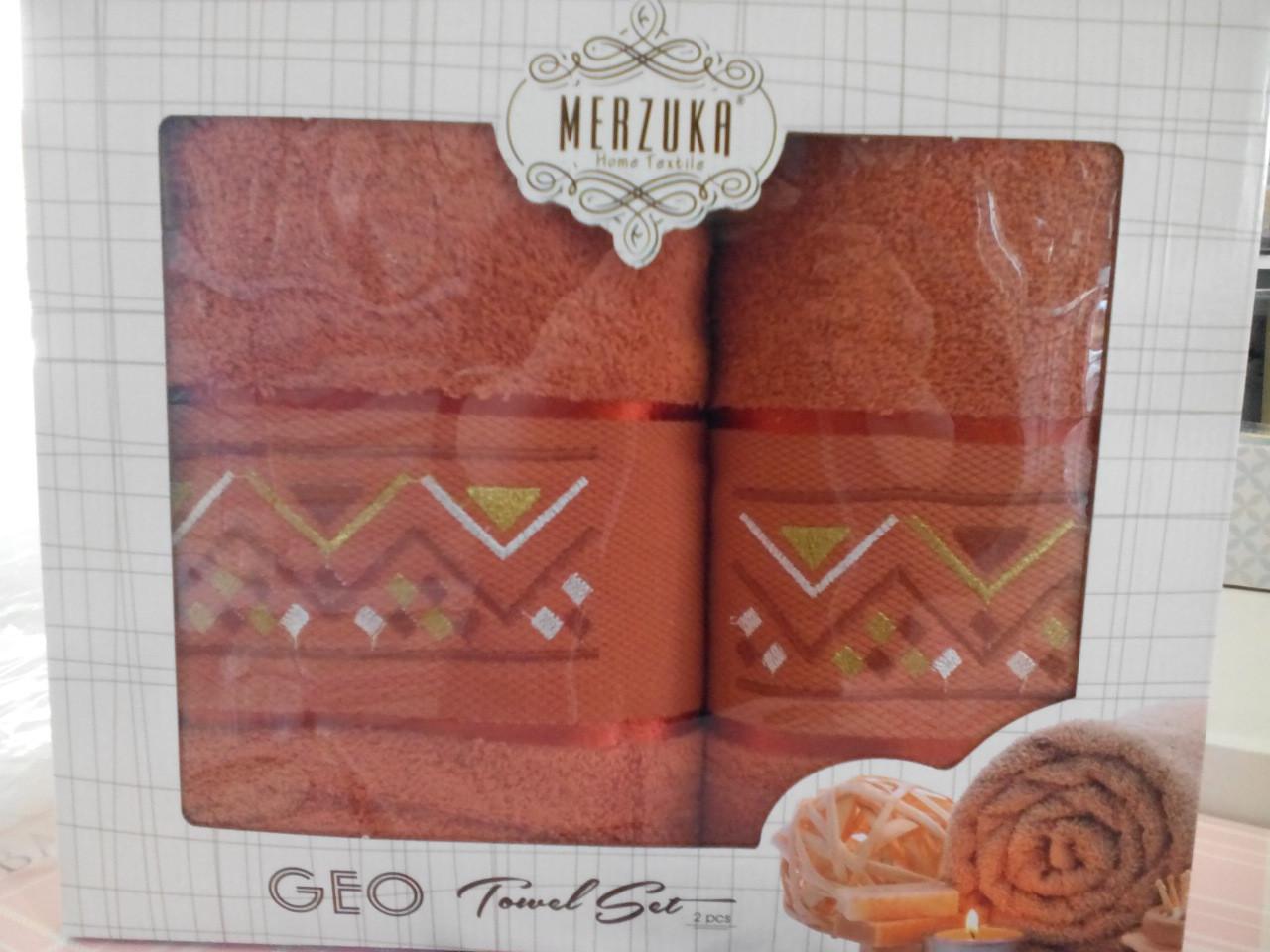Подарочный набор полотенец в коробке