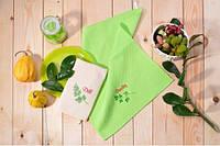 Набор вафельных полотенец с вышивкой, фото 1