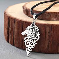 Кулон волк в скандинавском стиле, фото 1