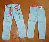 Котоновые брюки для девочки оптом