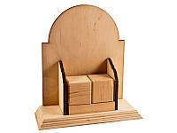 Заготовка для декупажа Alizarin Вечный календарь №3 19 х 16 см фанера (PR031-19-16.F)