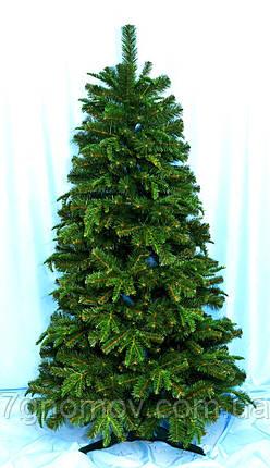 Искусственная елка Премиум зеленая 1.60 литая/ПВХ, фото 2