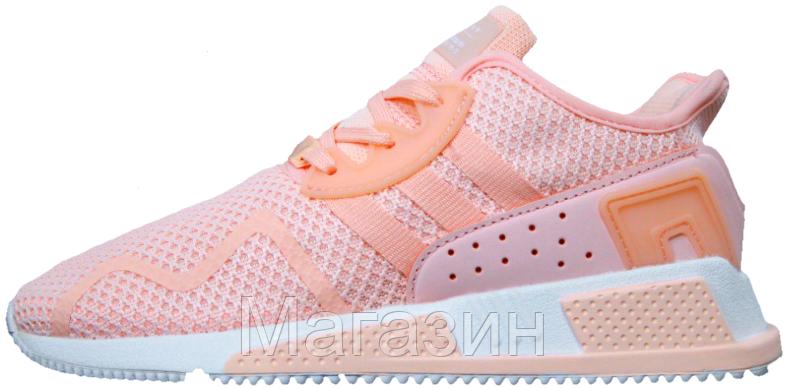 Женские кроссовки Adidas EQT Cushion ADV Адидас розовые