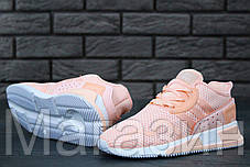 Женские кроссовки Adidas EQT Cushion ADV Адидас розовые, фото 2