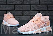 Женские кроссовки Adidas EQT Cushion ADV Адидас розовые, фото 3