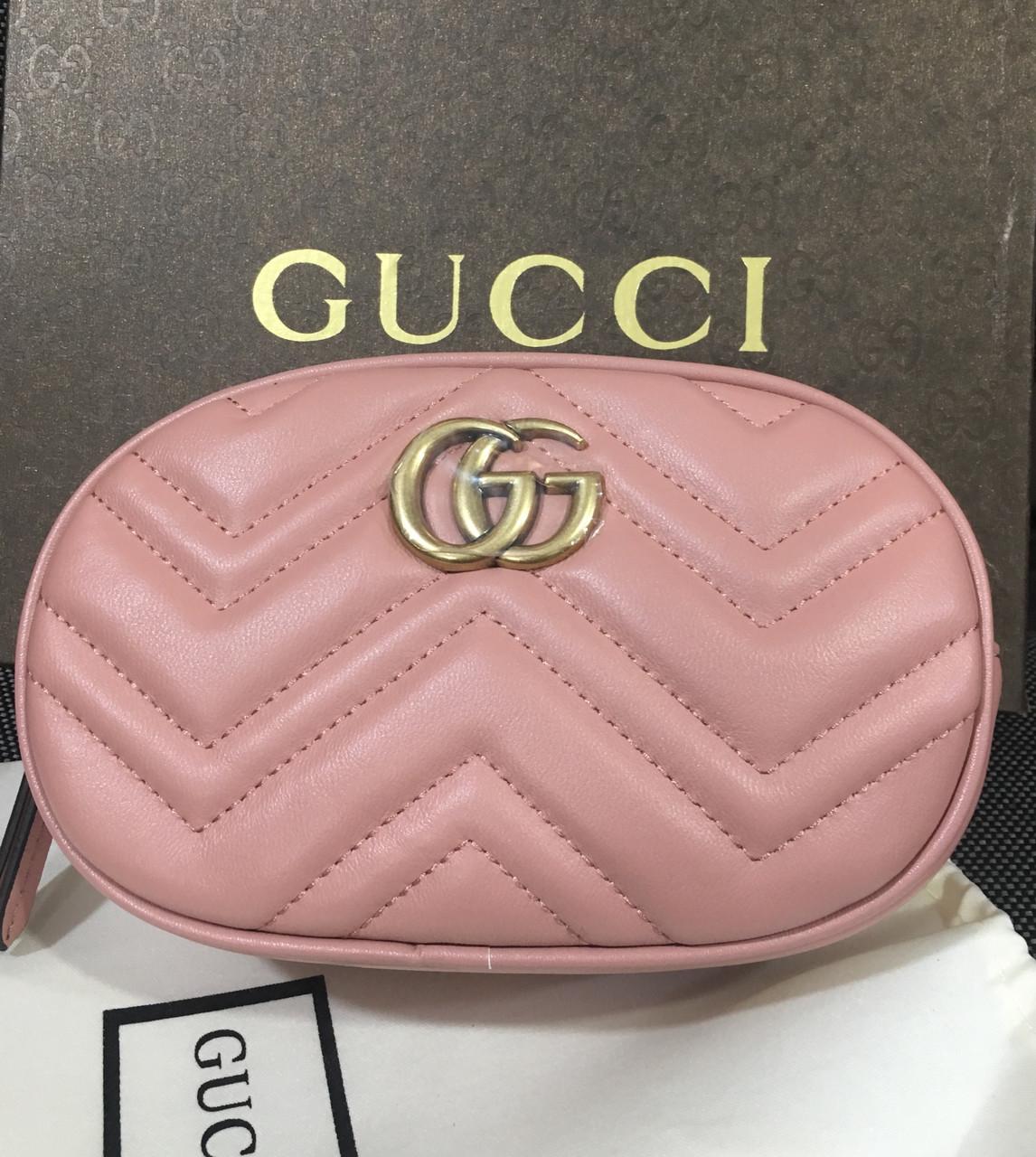 446f4f262618 Сумка поясная (бананка) Gucci (натуральная кожа): продажа, цена в ...
