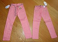 Котоновые брюки для девочки, оптом из Турции