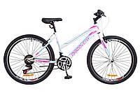 """Подростковый велосипед 26"""" Discovery PASSION 2018 для девушек 12-15 лет ТМ Discovery Бело-фиолетовый OPS-DIS-26-144"""