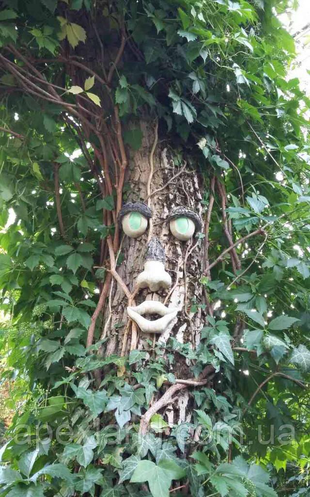 декор лицо для дерева