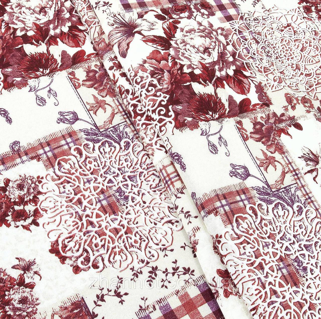 Ткань для штор Cintia красный