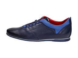Кожаные стильные туфли NIK 591NV