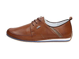 Кожаные стильные туфли NIK 507