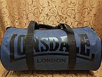 Спортивная сумка lonsdale хорошее качество ткань катион матовый популярн/Спортивная дорожная сумка только ОПТ, фото 1
