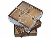 Камни для Виски из стеатита Wild West 4 Premium ( оригинальный подарок )