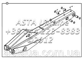 Стрела для экскаватора-погрузчика Hidromek 102B