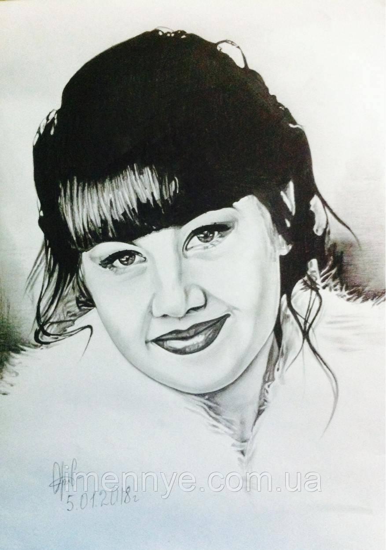 Женский портрет для подарка